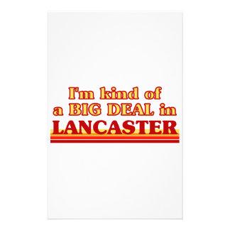 I´m kind of a big deal in Lancaster Stationery