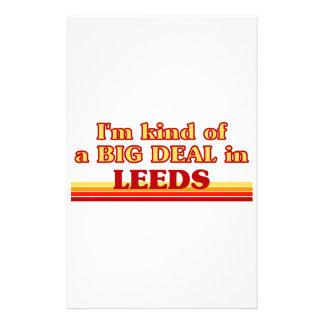 I´m kind of a big deal in Leeds Stationery