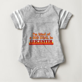 I´m kind of a big deal in Leicester Baby Bodysuit
