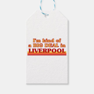 I´m kind of a big deal in Liverpool Gift Tags