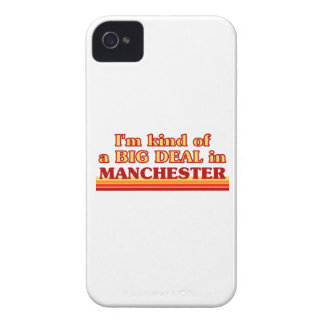 I´m kind of a big deal in Manchester iPhone 4 Case