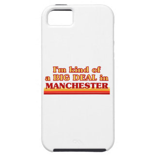 I´m kind of a big deal in Manchester iPhone 5 Case