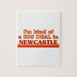 I´m kind of a big deal in Newcastle Jigsaw Puzzle