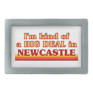 I´m kind of a big deal in Newcastle Rectangular Belt Buckle
