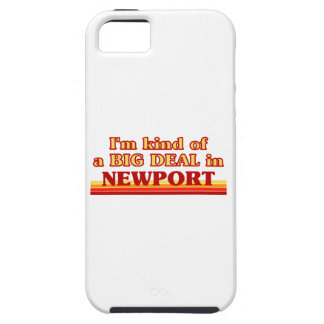 I´m kind of a big deal in Newport iPhone 5 Case