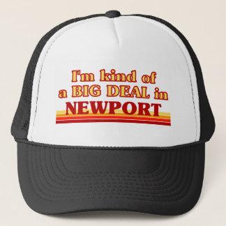 I´m kind of a big deal in Newport Trucker Hat
