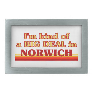 I´m kind of a big deal in Norwich Belt Buckle