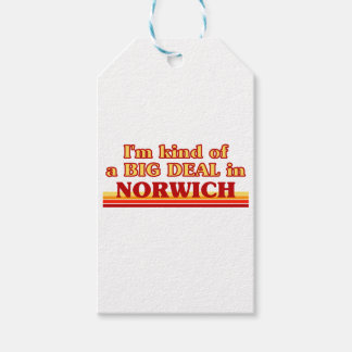 I´m kind of a big deal in Norwich Gift Tags