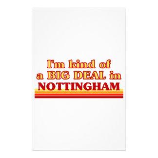 I´m kind of a big deal in Nottingham Stationery