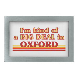 I´m kind of a big deal in Oxford Belt Buckle