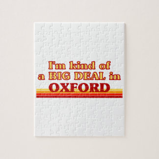 I´m kind of a big deal in Oxford Jigsaw Puzzle