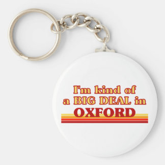 I´m kind of a big deal in Oxford Keychain