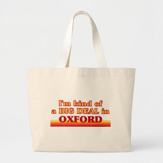 I´m kind of a big deal in Oxford Large Tote Bag
