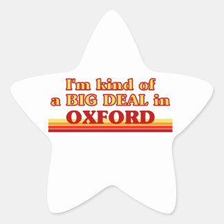I´m kind of a big deal in Oxford Star Sticker