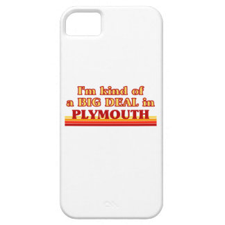 I´m kind of a big deal in Plymouth Case For The iPhone 5