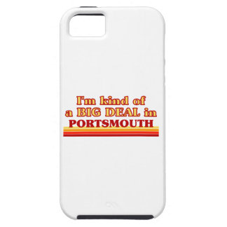 I´m kind of a big deal in Portsmouth Case For The iPhone 5