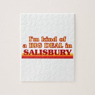 I´m kind of a big deal in Salisbury Jigsaw Puzzle