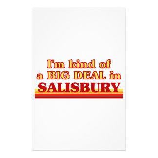 I´m kind of a big deal in Salisbury Stationery