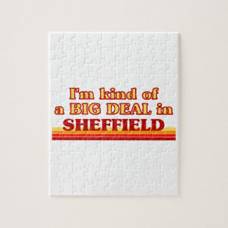 I´m kind of a big deal in Sheffield Jigsaw Puzzle