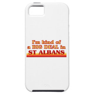 I´m kind of a big deal in St Albans iPhone 5 Cover