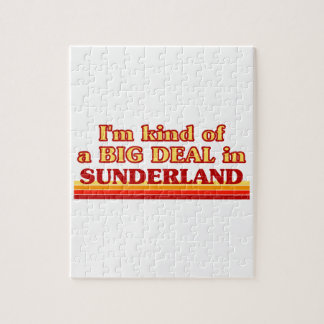 I´m kind of a big deal in Sunderland Jigsaw Puzzle
