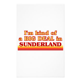 I´m kind of a big deal in Sunderland Stationery