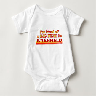 I´m kind of a big deal in Wakefield Baby Bodysuit
