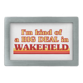 I´m kind of a big deal in Wakefield Belt Buckles