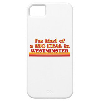 I´m kind of a big deal in Westminster iPhone 5 Case