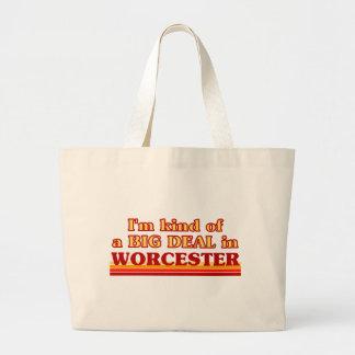 I´m kind of a big deal in Worcester Large Tote Bag