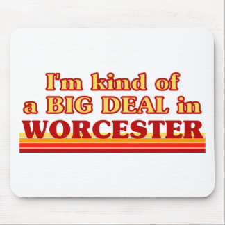 I´m kind of a big deal in Worcester Mouse Pad