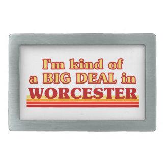 I´m kind of a big deal in Worcester Rectangular Belt Buckles