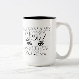 I`m Lost Two-Tone Coffee Mug