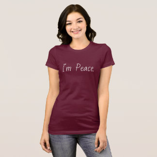 "I""m Love Designs I'm Peace Premium Shirt"