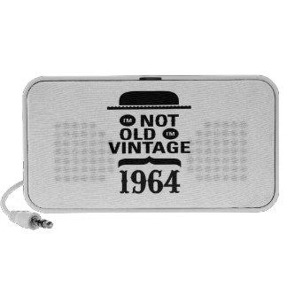 I m not old I m vintage 1964 Portable Speaker