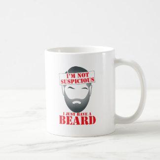 I'm not suspicious - I just have a BEARD Mug
