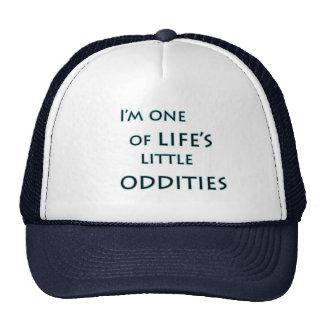 I'm one of life's little oddities funny trucker ha trucker hats
