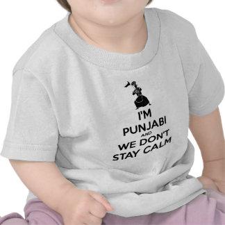 I m Punjabi and We Don t Keep Calm Tshirts