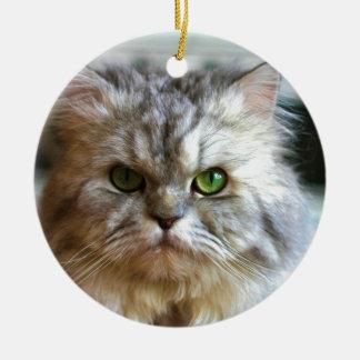 I'm So Serious Christmas Ornament