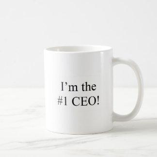 I'm the #1 CEO! Coffee Mug