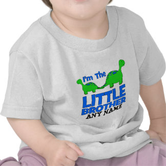 I m The LITTLE BROTHER Custom Dinosaur Gift Shirts