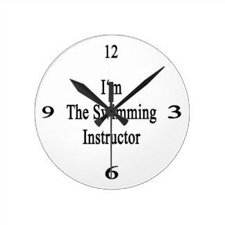 I m The Swimming Instructor Wallclock