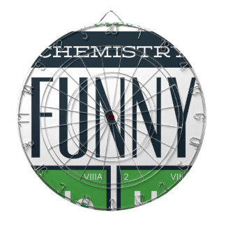 I made a chemistry funny here dartboard with darts