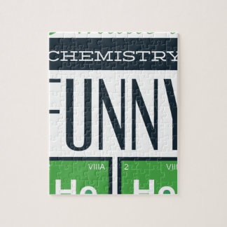 I made a chemistry funny here jigsaw puzzle