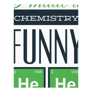I made a chemistry funny here letterhead