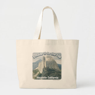 I made it to the Top Totebag Large Tote Bag