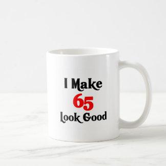 I make 65 look good coffee mug