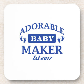 I make Adorable Babies Coaster