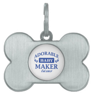 I make Adorable Babies Pet ID Tag