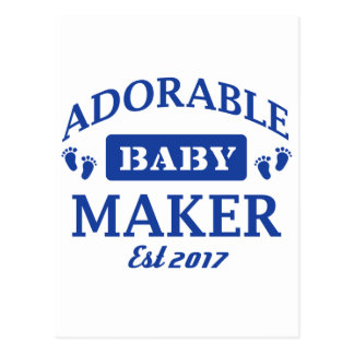 I make Adorable Babies Postcard